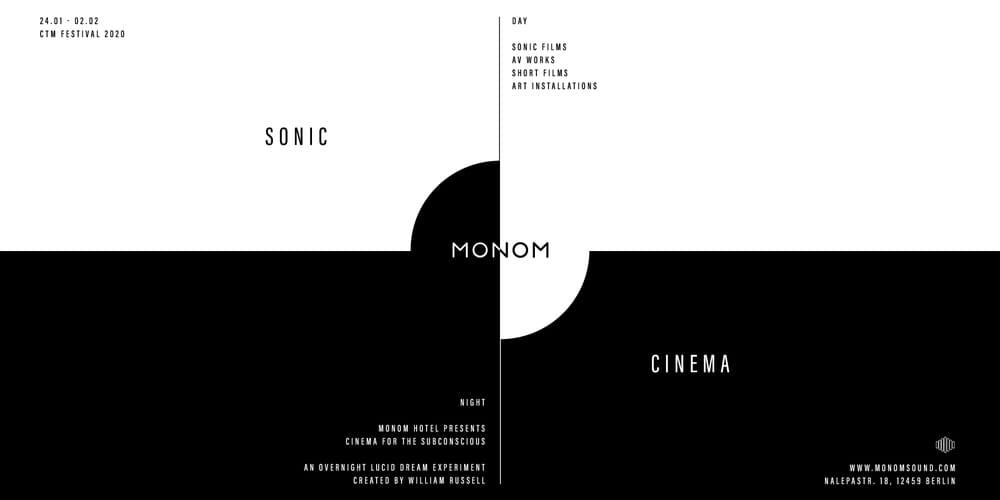 Tickets Single Sonic Session Ticket: Session Two,  in Berlin